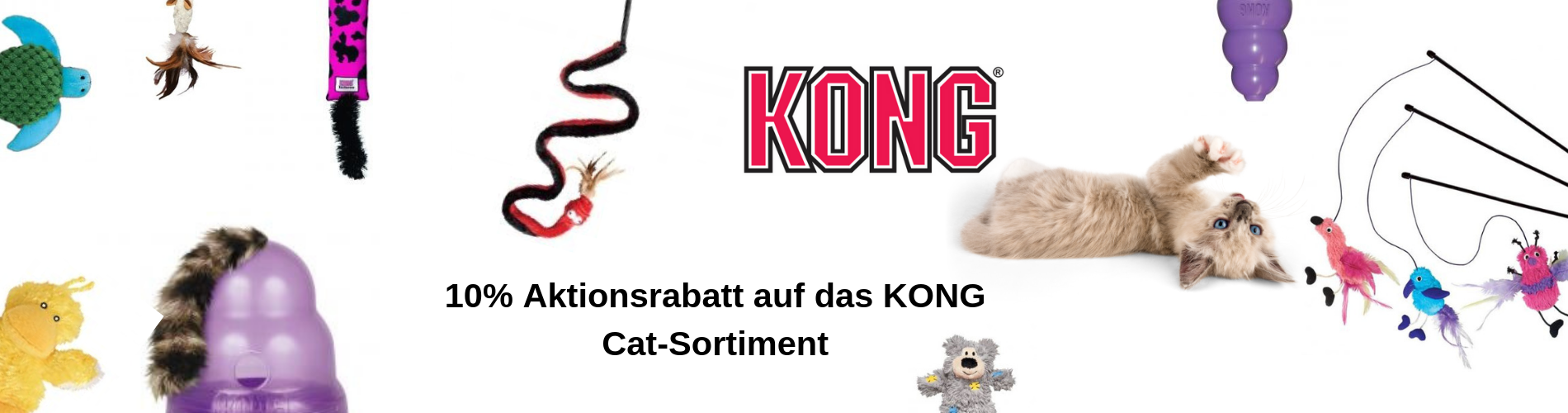 Kong Cat Aktion Mai 2019