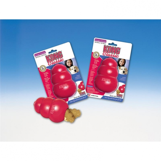 KONG Classic Large  rot