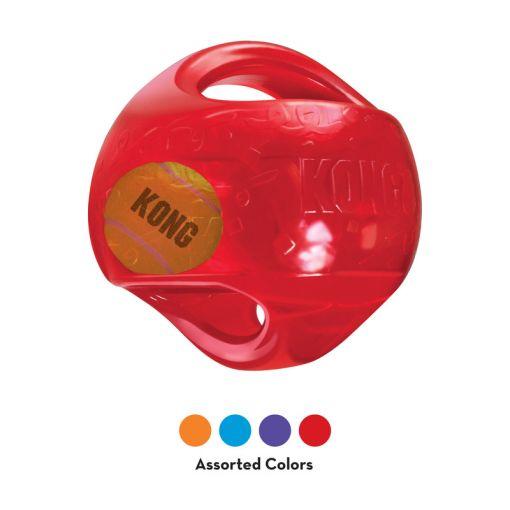 KONG Jumbler Ball Large/X-Large, blau