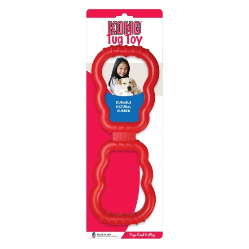 KONG Tug Toy Medium, rot