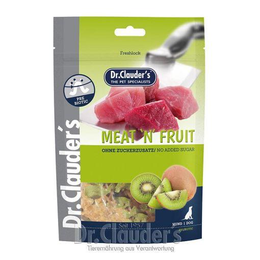 Dr. Clauders Snack Meat&Fruit Kiwi & Hühnchen Snack 80g (Menge: 10 je Bestelleinheit)