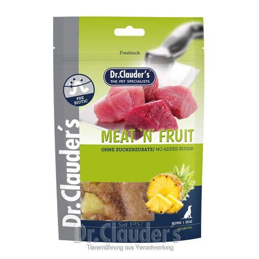 Dr. Clauders Dog Snack Meat&Fruit Ananas & Hühnchen Snack 80g (Menge: 10 je Bestelleinheit)