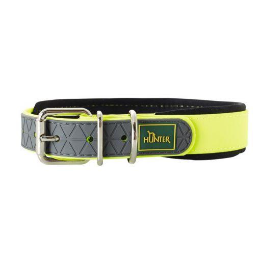 Hunter Halsband Convenience Neongelb 35-45 cm, 25 mm