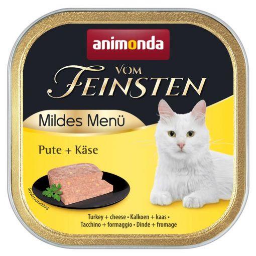 Animonda vom Feinsten Mildes Menue Pute & Käse 100g (Menge: 32 je Bestelleinheit)