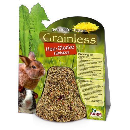 JR Farm Grainless Heu-Glocke Hibiskus 125g (Menge: 5 je Bestelleinheit)