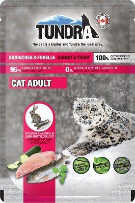 Tundra Cat PB Kaninchen & Forelle 85g (Menge: 16 je Bestelleinheit)