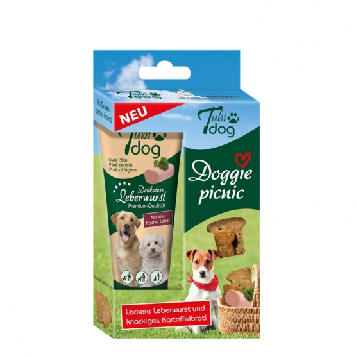 Tubi Dog Doggie-Picnic Hundesnack 125g