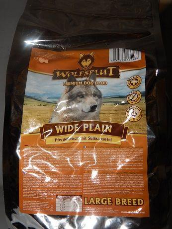 Wolfsblut Wide Plain Large Breed 2kg