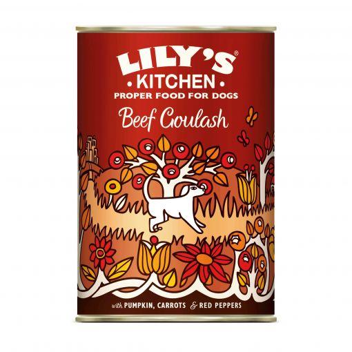 Lilys Kitchen Dog Beef Goulash 400g (Menge: 6 je Bestelleinheit)