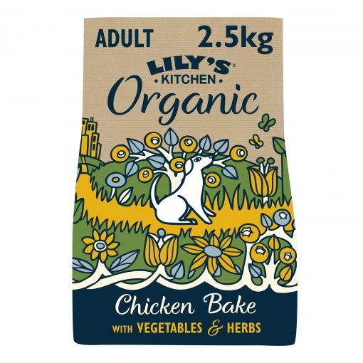 Lilys Kitchen Dog Organic Chicken Bake 2,5kg