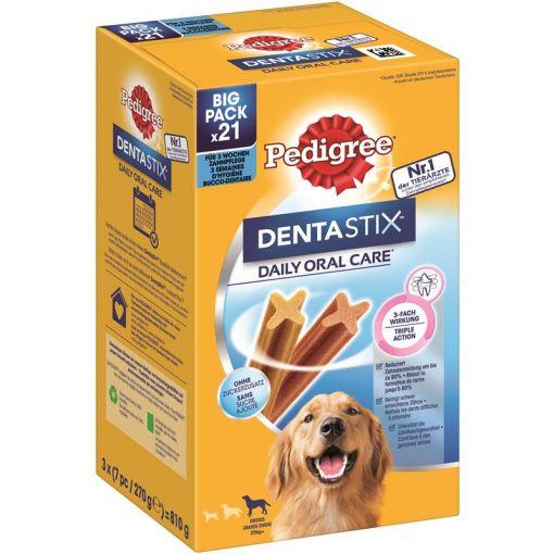 Pedigree Denta Stix Daily Care MP für große Hunde 21 Stück (Menge: 4 je Bestelleinheit)