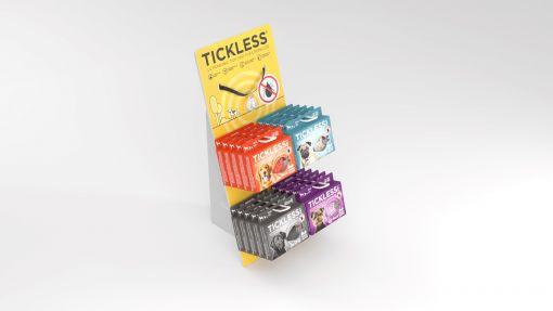 TickLess Display PET mit Halsband