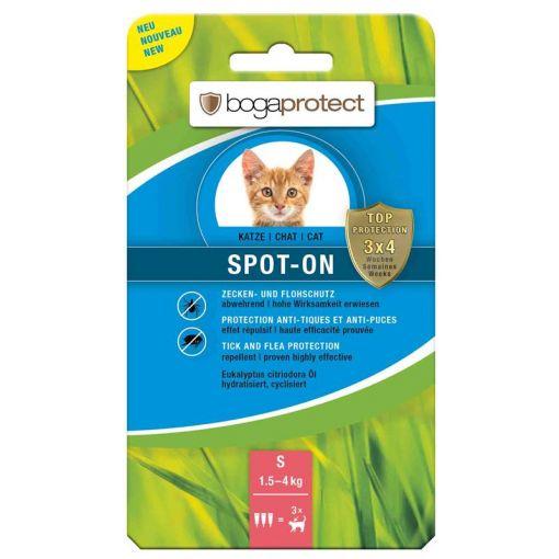bogaprotect SPOT-ON Katze S 3 x 0.7 ml