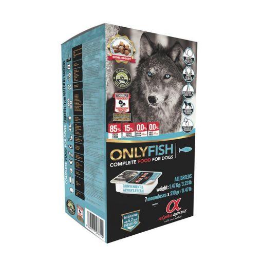 alpha spirit Complete Dog Food Only Fish 1,47kg