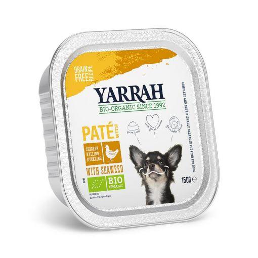 Yarrah Bio Dog Pastete Huhn 150g (Menge: 12 je Bestelleinheit)