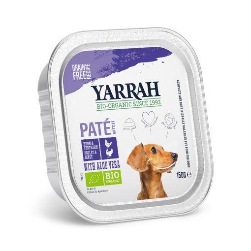 Yarrah Bio Dog Pastete Huhn & Truthahn  150g (Menge: 12 je Bestelleinheit)