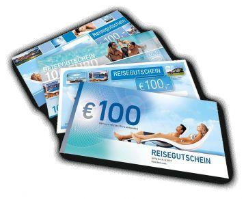 Reisegutschein im Wert 100 Euro