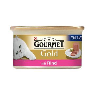 Gourmet Gold Feine Pastete Rind 85g (Menge: 12 je Bestelleinheit)
