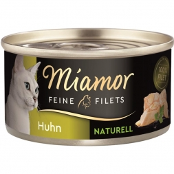 Miamor Dose Feine Filets Naturelle Huhn pur 80g (Menge: 24 je Bestelleinheit)