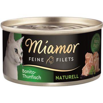 Miamor Dose Feine Filets Naturelle Bonito-Thunfisch 80g (Menge: 24 je Bestelleinheit)