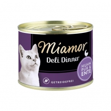 Miamor Dose Deli Dinner Huhn Pur & Ente 175g  (Menge: 12 je Bestelleinheit)