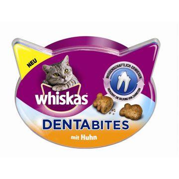 Whiskas Snack Dentabites mit Huhn 40g (Menge: 8 je Bestelleinheit)