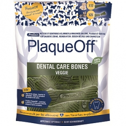 PlaqueOff Dental Care Bones Veggie 485g