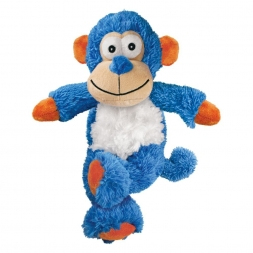 KONG Cross Knots Monkey Small/Medium  blau