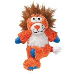 KONG Cross Knots Lion Medium/Large  braun