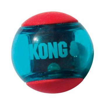 KONG Squeezz Action Ball Medium, rot
