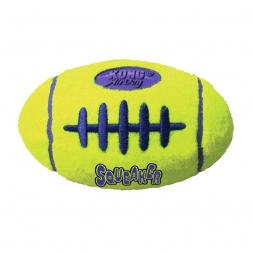 KONG Airdog Squeaker Football Small
