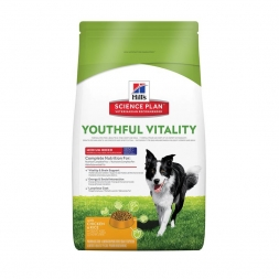 Hills Canine Adult 7+ Youthful Vitality Medium 10kg