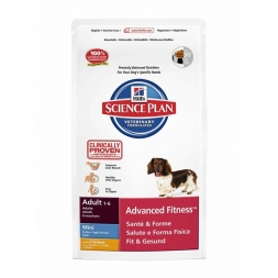 Hills Canine Adult Advanced Fitness Mini mit Huhn 2,5kg