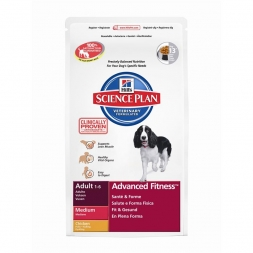 Hills Canine Adult Advanced Fitness Medium mit Huhn 12kg