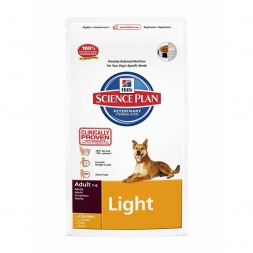 Hills Canine Adult Light Huhn 12kg