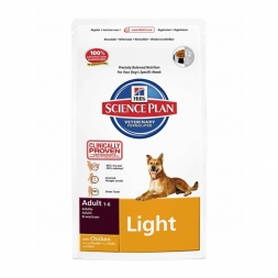 Hills Canine Adult Light Huhn 3kg