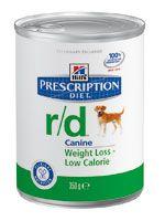 Hills Prescription Diet Canine r/d 350g Dose (Menge: 12 je Bestelleinheit)