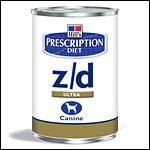 Hills Prescription Diet Canine z/d370g Dose (Menge: 12 je Bestelleinheit)