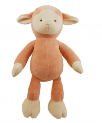 Simply Fido Organic Collection Lolly Lamb Pink 25cm