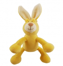 Simply Fido Organic Collection Lucy Bunny Yellow 15cm