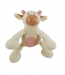 Simply Fido Organic Collection Millie Cow White 15cm