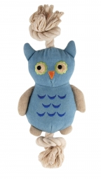 Simply Fido Natural Canvas Little Joe Owl  23cm