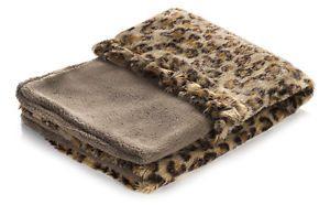 Snuggle Puppy Fleece Pocket Bed Leopard Print 68 X 48cm
