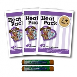 Snuggle Pet 24 Hour Heat Pack X3