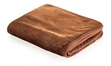 Snuggle Puppy Fleece Blanket Chocolate 122 X 81cm