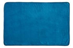 Snuggle Puppy Fleece Blanket Rich Blue 122 X 81cm