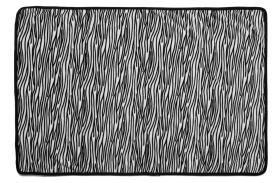 Snuggle Puppy Fleece Blanket Zebra Print 122 X 81cm