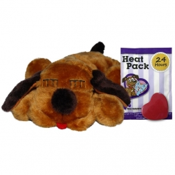 Snuggle Puppy Brown Mutt With Real Heartbeat