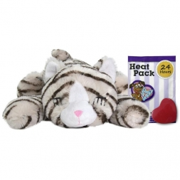 Snuggle Kitty Tan Tiger With Real Heartbeat