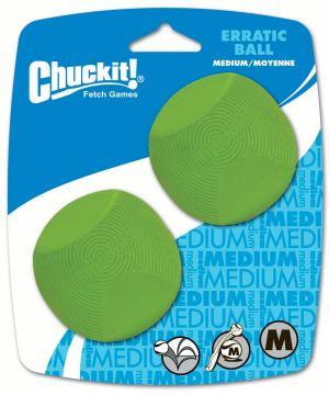 Chuckit ERRATIC BALL 2-PK Größe M